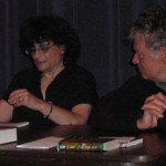 Lisa Goldstein and Terry Bisson discuss her work before she reads.