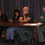 Terry Bisson, Lisa Goldstein, Tad Williams, and Karen Williams have a panel discussion.