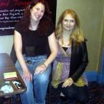 Jude Feldman of Borderlands Books and Jeannine Klein of Litquake.